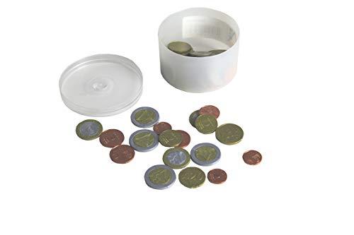 WISSNER aktiv lernen - Euro Spielgeld zum Rechnen 50 Münzen