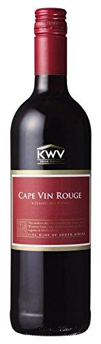 KWV ケープ・ルージュ [ NV 赤ワイン ライトボディ 南アフリカ 750ml ]