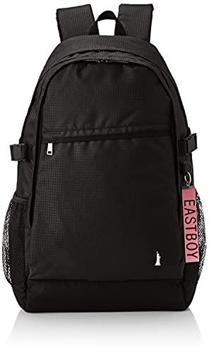 [イーストボーイ] リュックサック イーストボーイ スクールシリーズ 拡張リュックサック レインカバー付き ガールズ EBA43 01 ブラック