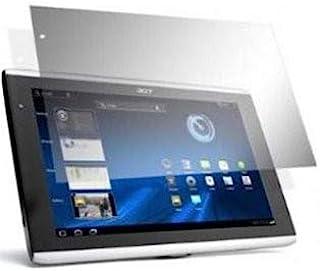 TECHGEAR [2-pack] skärmskydd för Acer Iconia Tab A500 10,1 tum surfplatta – klart skärmskydd med rengöringsduk