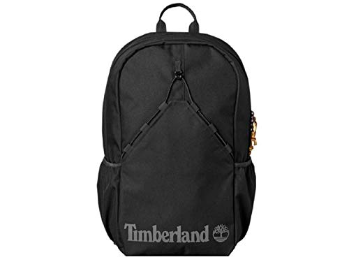 Timberland Large Bungee Backpack Black OS Travel, UNI, School Camping