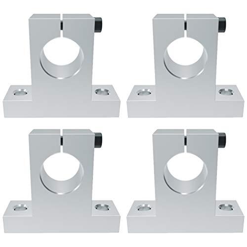 iplusmile 4 Piezas Sk8 Eje Soporte Movimiento Riel Guía de Sujeción Soporte Rodamiento Eje de Soporte Soporte Fijo Eje Soporte para Impresora 3D