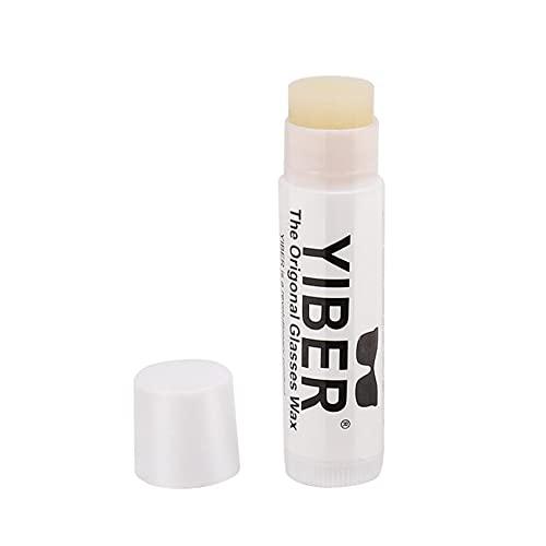 1 botella para gafas de sol antideslizante cojín de nariz, autoadhesivo para nariz, gafas de sol, antigoteo, cera de cojín de nariz.
