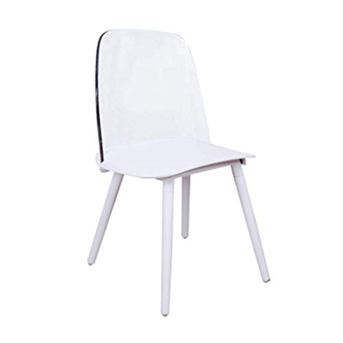 ch-AIR Net Red Nordic Transparent Dining Chair Designer Bar Coffee Shop Dressing Chair Ins Acryl Crystal Crystal Ghost Chair,4