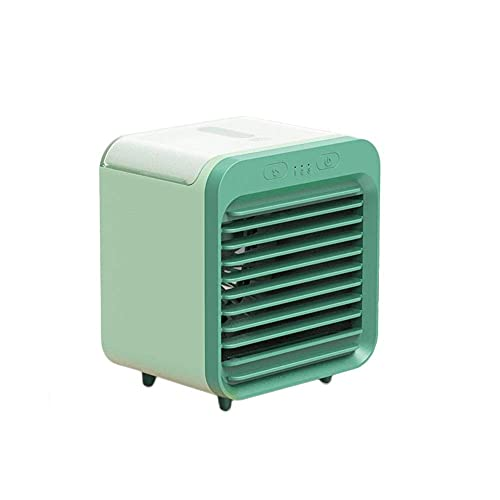LZQBD Fans,Portable Air Cooler Personal Mini Air Conditioner Cooler and Humidifier Mini Air Conditioner Fan for Home &Amp; Office Super Cold Wind USB Port 3 Fan Speed