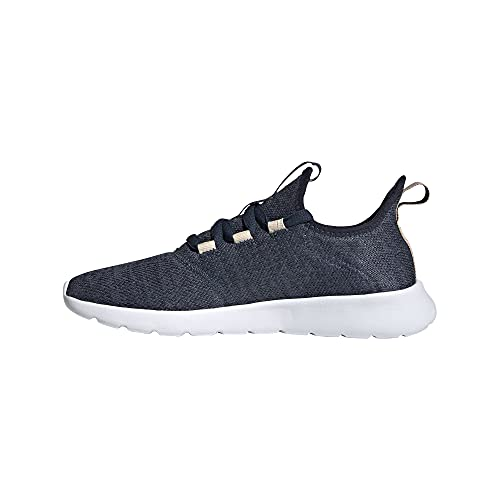 adidas Women's Cloudfoam Pure 2.0 Running Shoe, Crew Navy/Iron Metallic/Halo Blush, 7