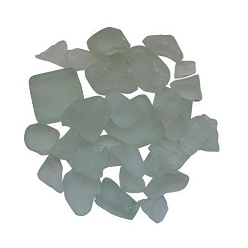 Find Discount Amantii Fire Glass Media White - Frosted