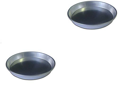 PARTY STORE WEB BY CASA DOLCE CASA Set 2 Ausstechformen für Backbleche aus Aluminium für CDC (2 Scheiben 26 cm Durchmesser)