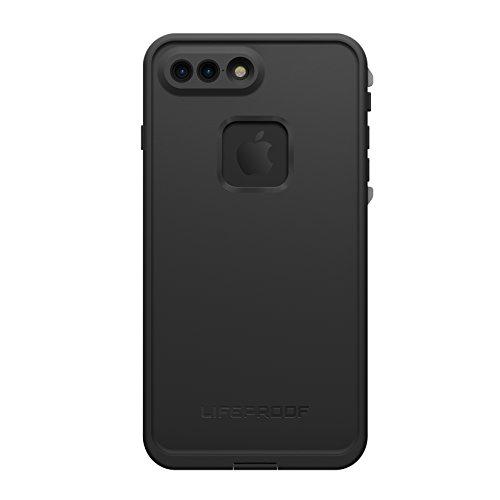 Lifeproof FRĒ SERIES Waterproof Case for iPhone 7 Plus (ONLY) - Retail Packaging - ASPHALT (BLACK/DARK GREY)