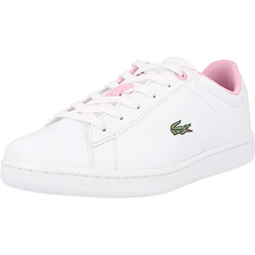 Lacoste Carnaby Evo 0120 2 Weiß/Rosa (White/Light Pink) Synthetik 39 EU
