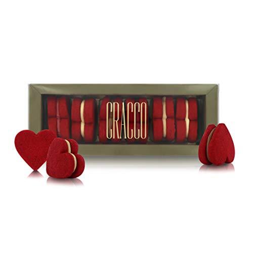 Galletas con Forma de Corazón para San Valentín, Aniversarios y Ocasiones Especiales - 78 Gramos