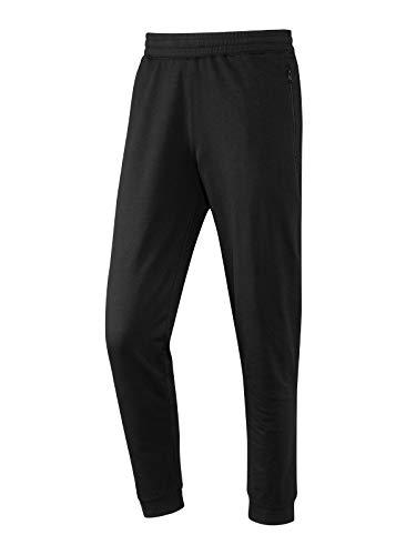 Joy Sportswear Nick Sport- und Freizeithose für Herren, Jogginghose mit hohem Baumwollanteil und bequemen Bund Kurzgröße, 26, Black