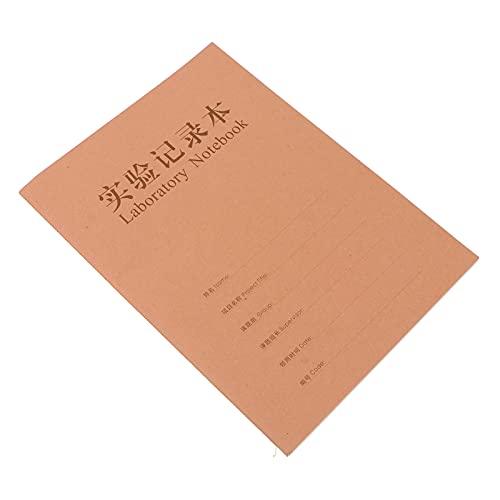 Scicalife Cuaderno de Laboratorio Cuaderno de Papel de Investigación Bloc de Notas de Tema Escolar Bloc de Notas de Papel Kraft Bloc de Notas para Estudiantes