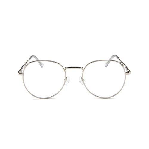 Swiftswan All-Match einfache Metall Student Rahmen blau Licht blockierende Brille leichte Mode Brille Rahmen