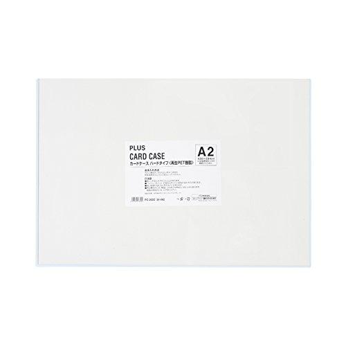 プラス カードケース ハードタイプ A2 PC-202C 34-462