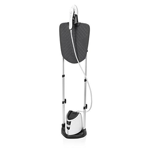 Princess 332850 – Vaporizador de ropa con exclusiva tabla de planchar plegable, vapor y plancha