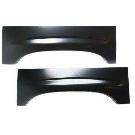 Wheel Arch Repair Panel Upper Rear Pair Set of 2 Compatible with Chevy Silverado GMC Sierra