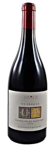 Ue Passula Primitivo di Manduria DOC 2016 Vinosia, einer der besten Weine Apuliens zum Vorzugspreis