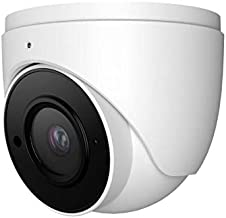 HDView 5MP IP Network Camera H.265 DWDR PoE, Build in Mic, 2.8mm Wide Angle Lens 3-Axis, Eyeball Dome, Megapixel Home Security Camera