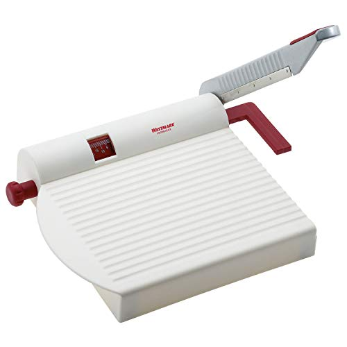 Westmark Germany Multipurpose Stainless Steel Cheese and Food Slicer with Board and Adjustable...