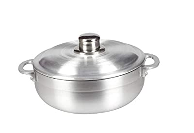 All For You Heavy Gauge Caldero Dutch Oven with Aluminum Lid (10.9QT)