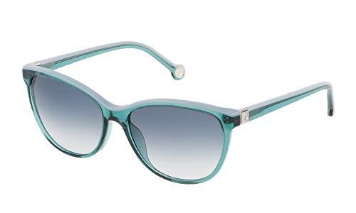 Carolina Herrera SHE653550874 Gafas de sol, Verde, 55 para Mujer