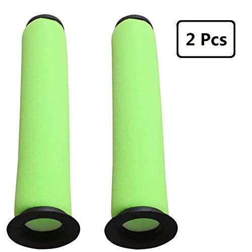 Taoric Waschbarer Green Bin Stick Staubsaugerfilter Kompatibel mit Dyson Gtech AirRam Mk2