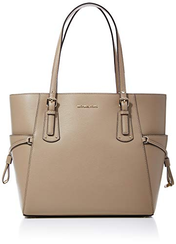 "Dimensions: 12""W x 11""H x 5.75""D Double Handle with strap drop of 8"" Fashion Trend: Tote Leather Tote No Closure"