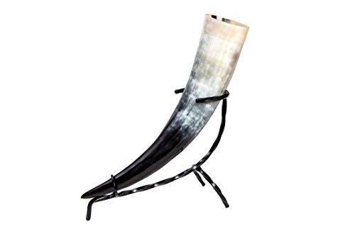 Trinkhorn ca. 500-590 ml 0,5-0,59l inkl. Tischständer