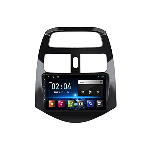 MGYQ Android 10.0 Radio De Coche, con Cámara Trasera Radio Multimedia, Soporte Bluetooth/Audio FM/Enlace Espejo/WiFi/AUX Entrada/SWC, para Chevrolet Spark 2010-2014,Octa Core,4G WiFi 2+32