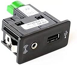 Fincos OEM CarPlay MDI USB AMI Install Plug Socket for vw Golf 7 mk7 Beetle Jetta Passat b8 CC Sharan Transporter seat 5G0 035 222 E