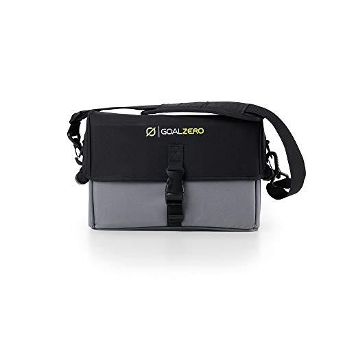 Goal Zero Yeti 400 Lithium-Schutzkoffer hält Ihr Yeti Lithium sicher während des Transports und außerhalb der Elemente, mit einem stabilen Etui, Schultergurt zum Tragen und Schnallen zur Sicherung