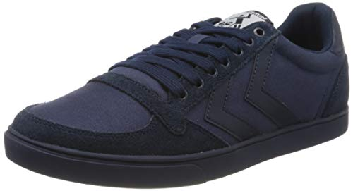 Hummel Unisex-Erwachsene SLIMMER STADIL TONAL LOW, Blau (Dress Blues 8628), 42 EU