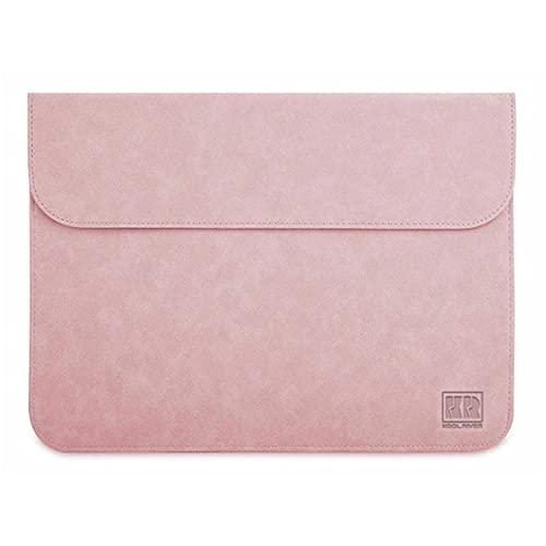 Surface Laptop2 ケース/カバー レザー ポーチ/カバン スリーブ上質 高級PU レザー サーフェス ラップトップ2 ケース おしゃれ タブレットケース(ピンク)