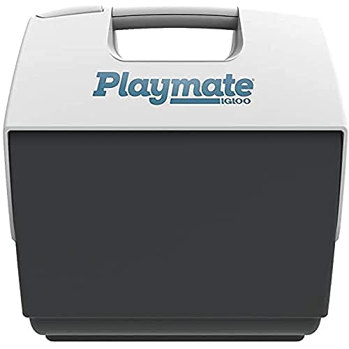 IGLOO Outdoor Playmate Pal Maxcold Kühlbox, Weiß/Grau, 6,6 Liter
