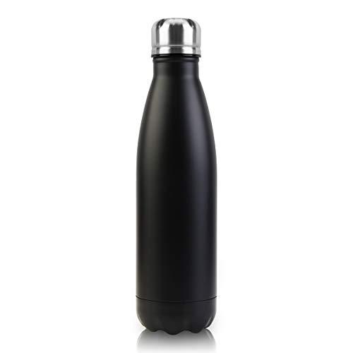 Monkey's King Vakuum-Isolierte Trinkflasche aus Hochwertigem Edelstahl - 24 Std Kühlen & 12 Std Warmhalten Doppelwandige Isolierflasche, Auslaufsicher 500ml …