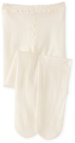 Country Kids - Collants Fille Microfiber Opaques - Ecru (Ivory) - 3 ans