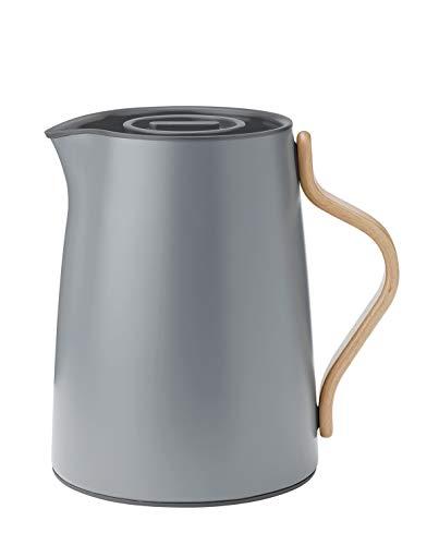 Stelton Emma Isolierkanne Tee 1,0 Liter, matt grau [A]