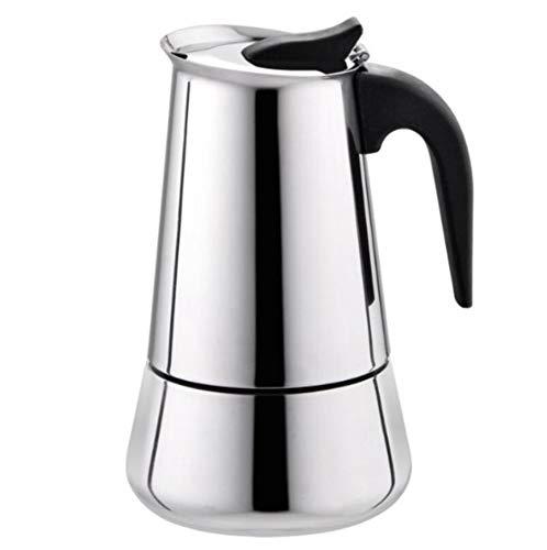 AQWWHY Cafetera espresso de 100/200/300 / 450ML, cafetera italiana ...