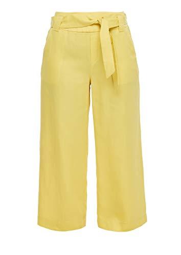 s.Oliver Hose 7/8 Pantalón, 1201 Amarillo, 34 para Mujer