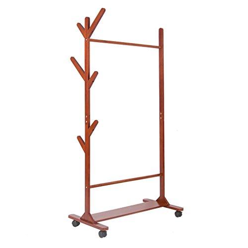 LICHUAN Perchero de almacenamiento extraíble, para dormitorio, zapatero de hogar, altura de 145 cm, longitud de 76 cm, fácil montaje