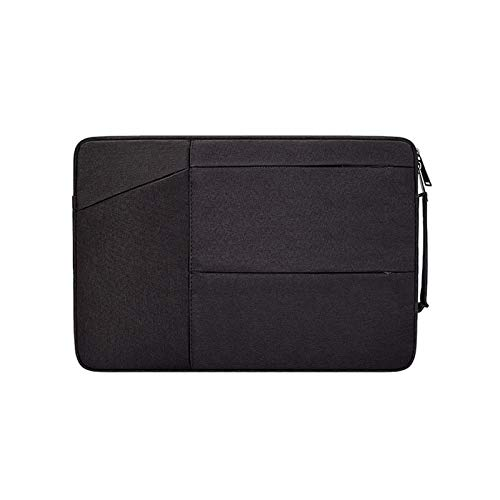 YNLRY Sleeve Cover for Huawei Matebook D14 D15 13 14 X Case Laptop Bag Fits Macbook Air Pro M1 13 15 16 (Color : Black, Size : Macbook 11 12 inch)
