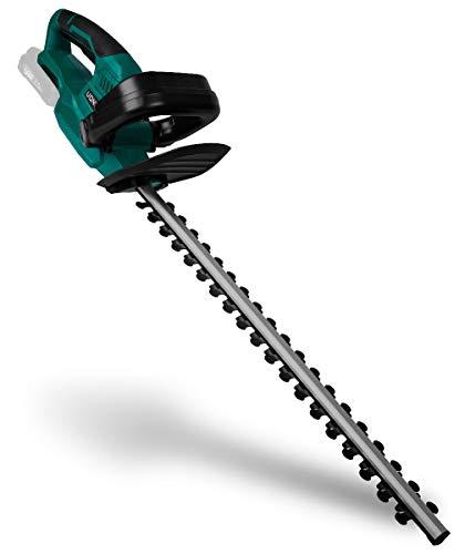 VONROC Akku-Heckenschere VPower 20V (ohne Akku und Ladegerät) - 59cm Klingenlänge - 18mm Klingenabstand