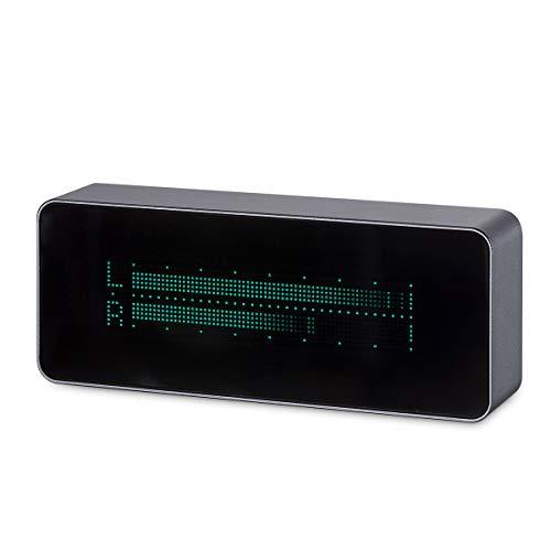 nobsound Audio AK7115VFD 15niveles Multifunctional Music Audio Spectrum/High Precision Digital Clock/Audio VU Meter/DB Indicator with Remote Control