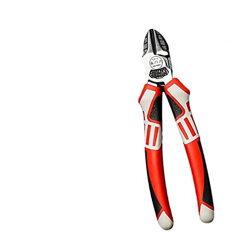 6/7/8 pulgadas Alicates Multitool Cutter Cutter Herramienta de engarce Color eléctrico Corte de corte Desploración de electricistas Reparación de herramientas de mano (Color : Diagonal 7)