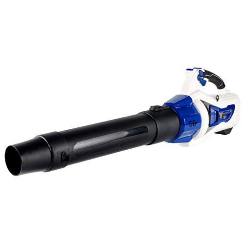 New QUANOVO Turbine 58V Cordless Battery-Powered Leaf Blower Strong Winds Suitable for Indoor and Ou...