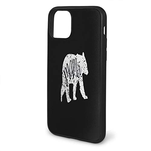 Mama Bear For Apple phone/Pro/Max 4 - Carcasa de silicona para iPhone 4, diseño de oso