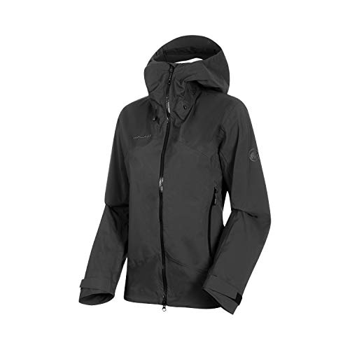 Mammut Damen Hardshell-Jacke mit Kapuze Kento Hooded, schwarz, XS