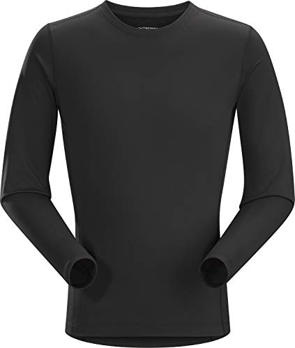 Arc'teryx Phase AR Crew LS Men's (Black, Large)