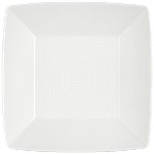 Thomas' Loft - 3 x Plat carré Creux 22 cm, Blanc